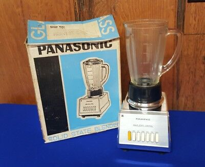 Vintage Chrome National Panasonic Solid State Control Blender MX-280 Parts Only
