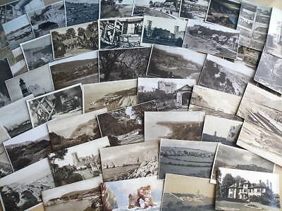 50 vintage POSTCARDS - various locations on the ISLE of WIGHT