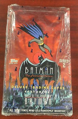 Topps 1993 Batman The Animated Series Trading Cards~Series-2 UNOPENED FULL BOX