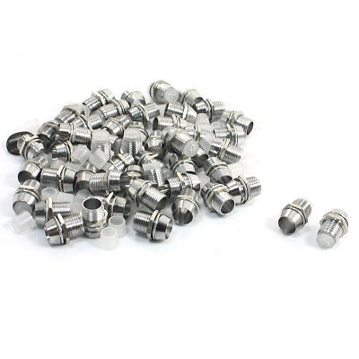 50 Pcs Silver Tone LED Lamp Holder for 5mm Light Emitting Diode T2A9 H1P5
