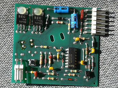 Deltronic Ticket Dispenser Circuit Board DL-232  New Old Stock