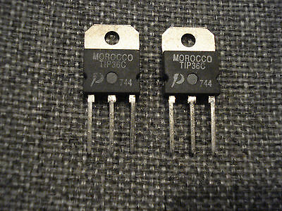 Data East Pinball Tip 36C Driver Transistors New Old Stock