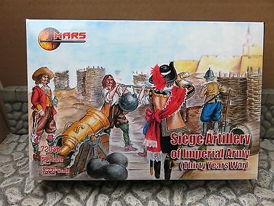 Mars 72038 , 1/72 Siege Artillery of Imperial Army (30 Years War)