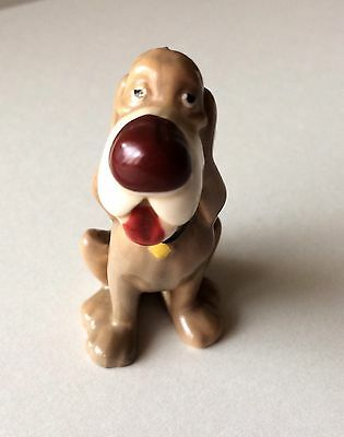 Wade Trusty Dog With Brown Nose From Disney Lady And The Tramp Hat Box Series