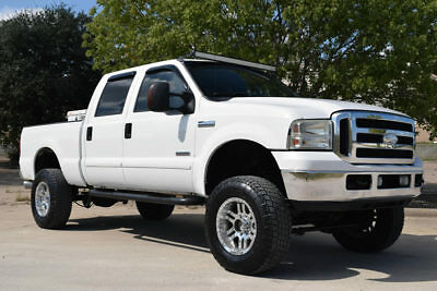 2006 Ford F-250 Lariat Custom 2006 Ford F250 Crew Cab Lariat Custom 4x4, Lift Kit, Diesel, Fully Loaded!