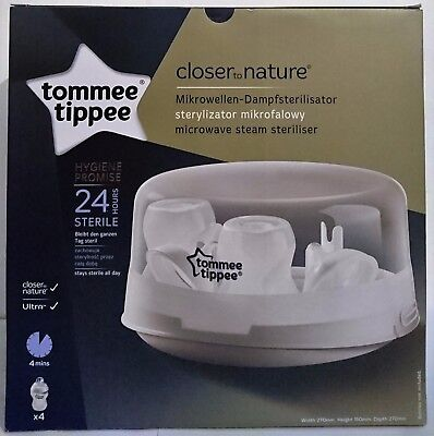 Tommee Tippee | Closer to Nature | Microwave Steam Steriliser