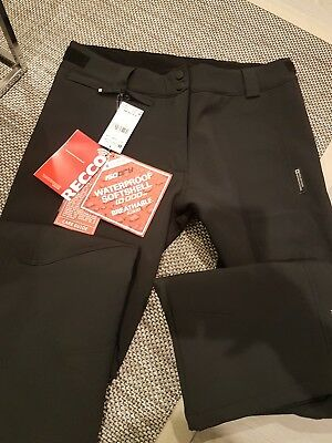 skiing waterproof softshell breathable trousers new with tags uk12