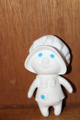 "Vintage Advertising Pillsbury Dough Girl made in USA 5 1/2"" long Toy Doll"