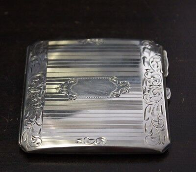 Antique Birks powder Box Sterling Silver