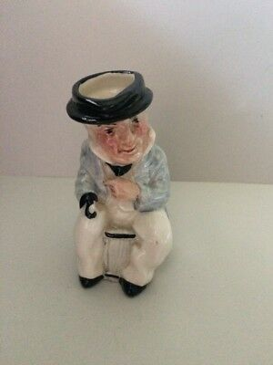 Artone England Captain Cpt Cuttle Hand Painted Character Jug