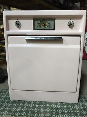 Vintage 1950's Pink General Electric Wall Oven