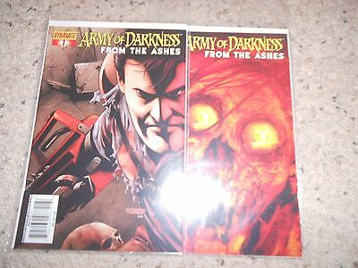 Army of Darkness comics From the Ashes issues 1 and 2 great condition