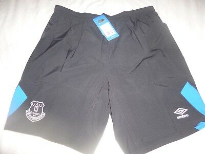 Brand New Official Everton Umbro Training Woven Shorts.