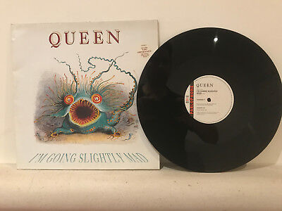 """QUEEN - I'm going Slightly Mad - 12"""" Single - 12 QUEENG 17 - 1991 UK"""