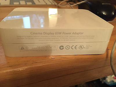 Apple A1096 Cinema Display Power Adapter 65W for 20'' DVI Cinema HD Display