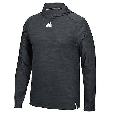 adidas Men's Varsity Training Hood Athletic Breathable Pullover Black Hoodie Tee