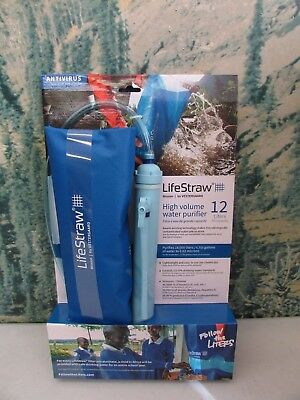LifeStraw Mission 12L Water Purifier ~ New ~ Free Shipping