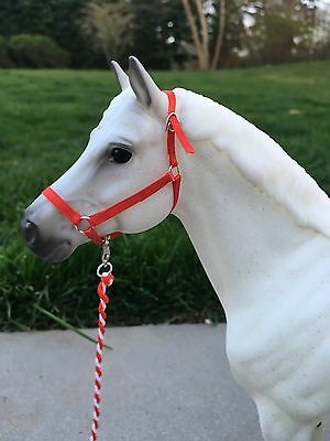 Model horse halter Breyer Traditional 1:9 scale Choose your color! Handmade