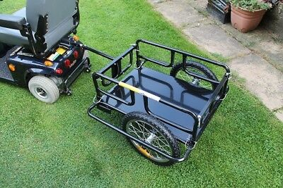 Mobility Scooter Trailer Extra Large XXL Disability Cargo Transport Solution New