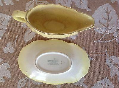 H Wain & Sons Ltd sauce boat and saucer
