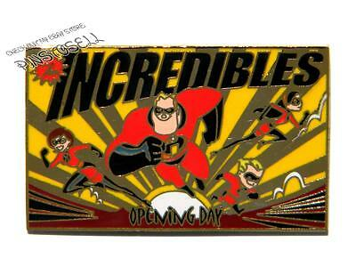 The Incredibles Cast Exclusive Opening Day Le Disney Pin