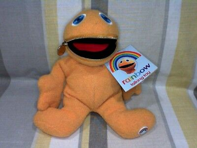 "Zippy from Rainbow 7"" high Vintage (1972)  Talking Plush by Peason TV WT"
