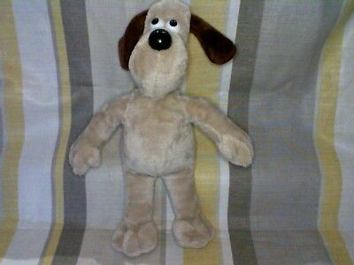 "Gromit from Wallace and Gromit 13"" Plush by Aardman  Rainbow Designs"