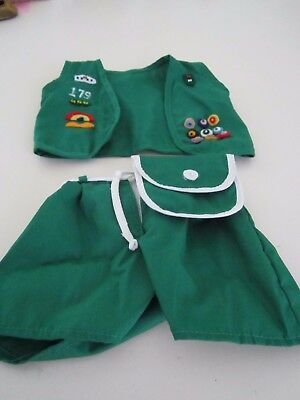 American Girl MOLLY Girl Scout Uniform (Partial)  Original '90's Perfect!