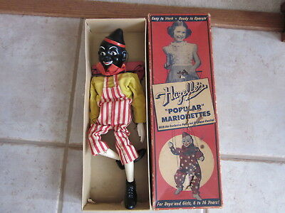 1950 Hazelle's Minstrel Mike 805. Excellent in box; box has some tear issues