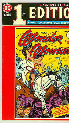 Wonder Woman 1 Famous First Edition Nm-
