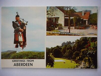 Postcard - Greetings from Aberdeen - Multiview
