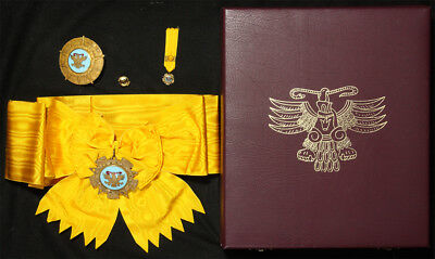 Mexico Order of Aztec Eagle 1 gr full set Order Ordre medaille orden