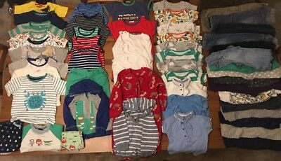 Boys Clothes Bundle Size 12-18 Months (55 Pieces)