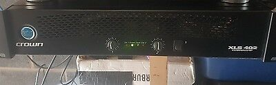 crown xls 402 power amplifier
