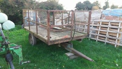 Ferguson 3 Ton Tipping Trailer Vintage Tractor For Restoration
