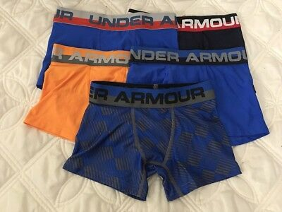 Under Armour Boys Original Boxerjock Briefs Lot of 5 Pack SZ-Youth X Small..#8