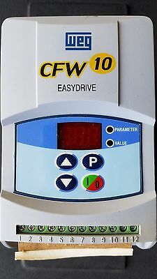 WEG CFW10- EASYDRIVE Frequency Inverter Variable Speed Drive