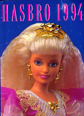Hasbro 1994 Trade Catalogue Excellent Sindy Action Man My Little Pony