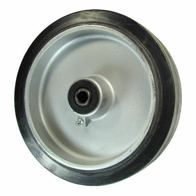 "8"" x 2"" Rubber on Aluminum Wheel for Casters or Equipment Service Caster Brand"