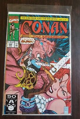 Conan the Barbarian #242 VF/NM Red Sonja. $3.99 Unlimited Shipping