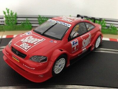 Scalextric Car Opel DTM V8 Coupe No4 Red