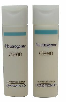 Neutrogena Clean Normalizing Shampoo & Conditioner lot of 14 (7 of ea)