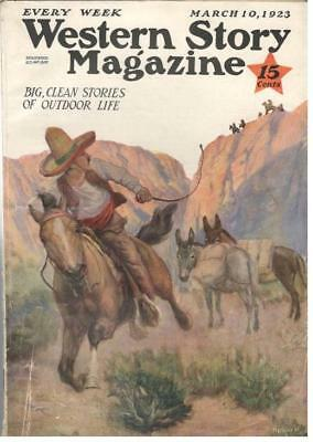 Western Story Magazine - March 10,1923 - Max Brand,Johnston McCulley