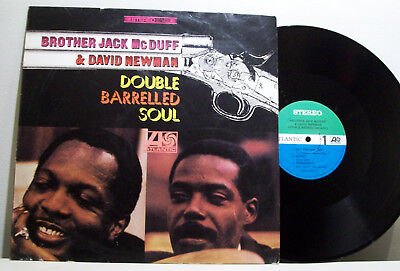 BROTHER JACK McDUFF & DAVID NEWMAN double barrelled soul LP MOD JAZZ atlantic RE