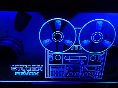Studer Revox Logo Led Sign NEW