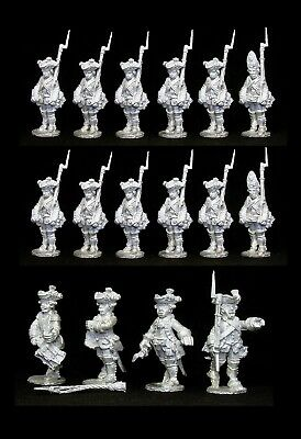 28 mm Seven years' war Russian infantry Author's sculpture
