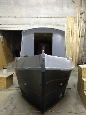 narrow boat 57ft cruiser brand new in build