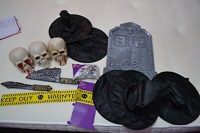 Job Lot   Assorted Halloween Related Items