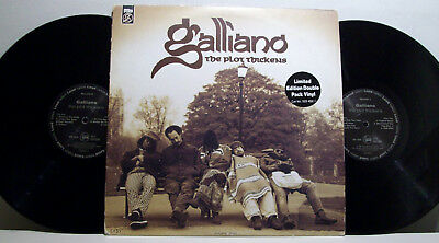 GALLIANO - the plot thickens 2xLP TALKIN' LOUD limited edition 1st MICK TAYLOR