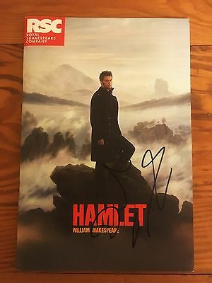 HAMLET - RSC Theatre Programme - SIGNED by DAVID TENNANT - 10th Doctor Who RARE